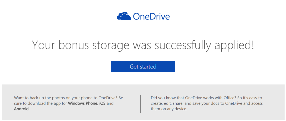 Microsoft offers up to 200 GB of free OneDrive storage ...